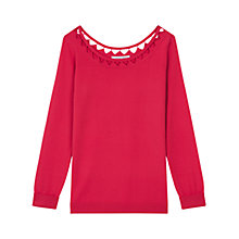 Buy Gerard Darel Astrid Jumper, Pink Online at johnlewis.com