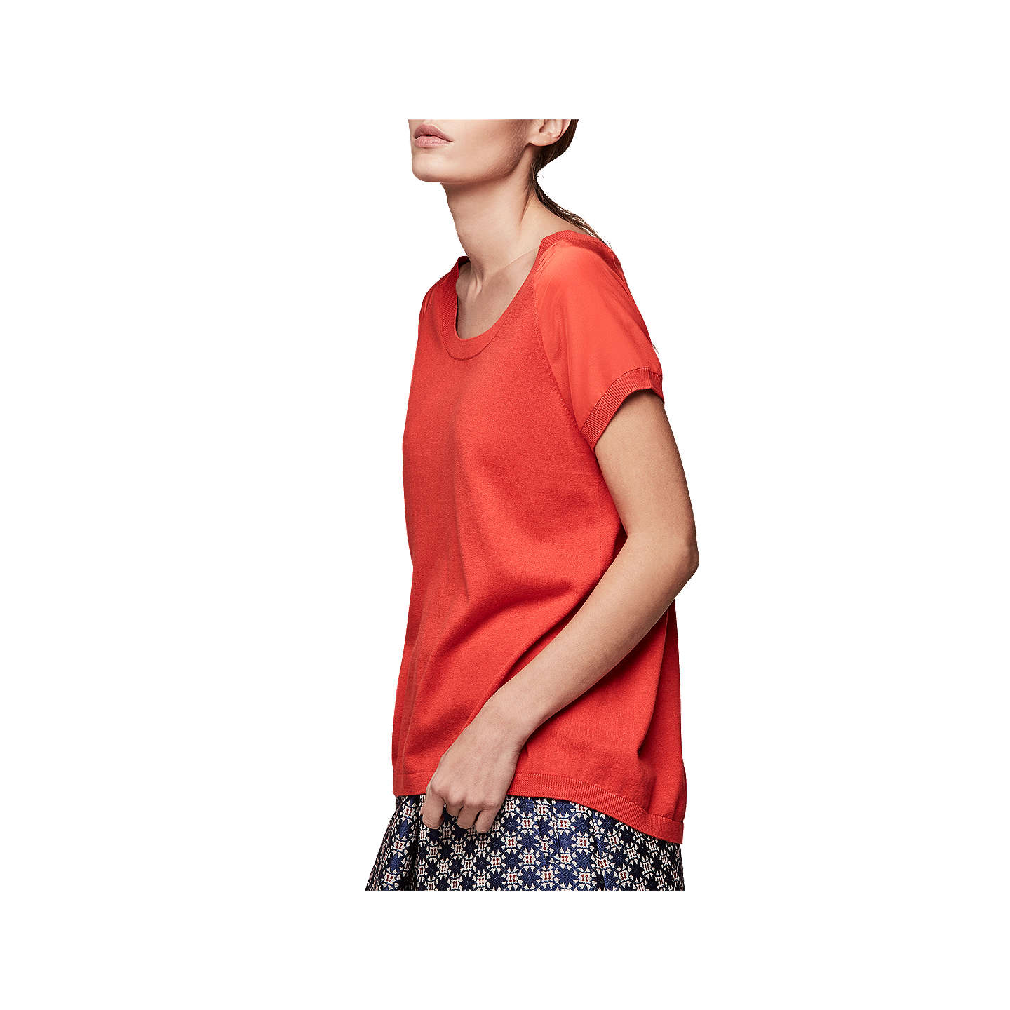 BuyGerard Darel Andrea Jumper, Red, 8-10 Online at johnlewis.com
