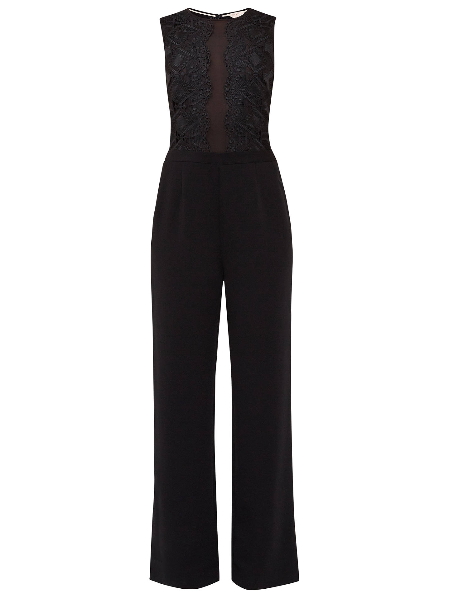 b23eacb73fea Buy Ted Baker Kayle Lace Panel Jumpsuit