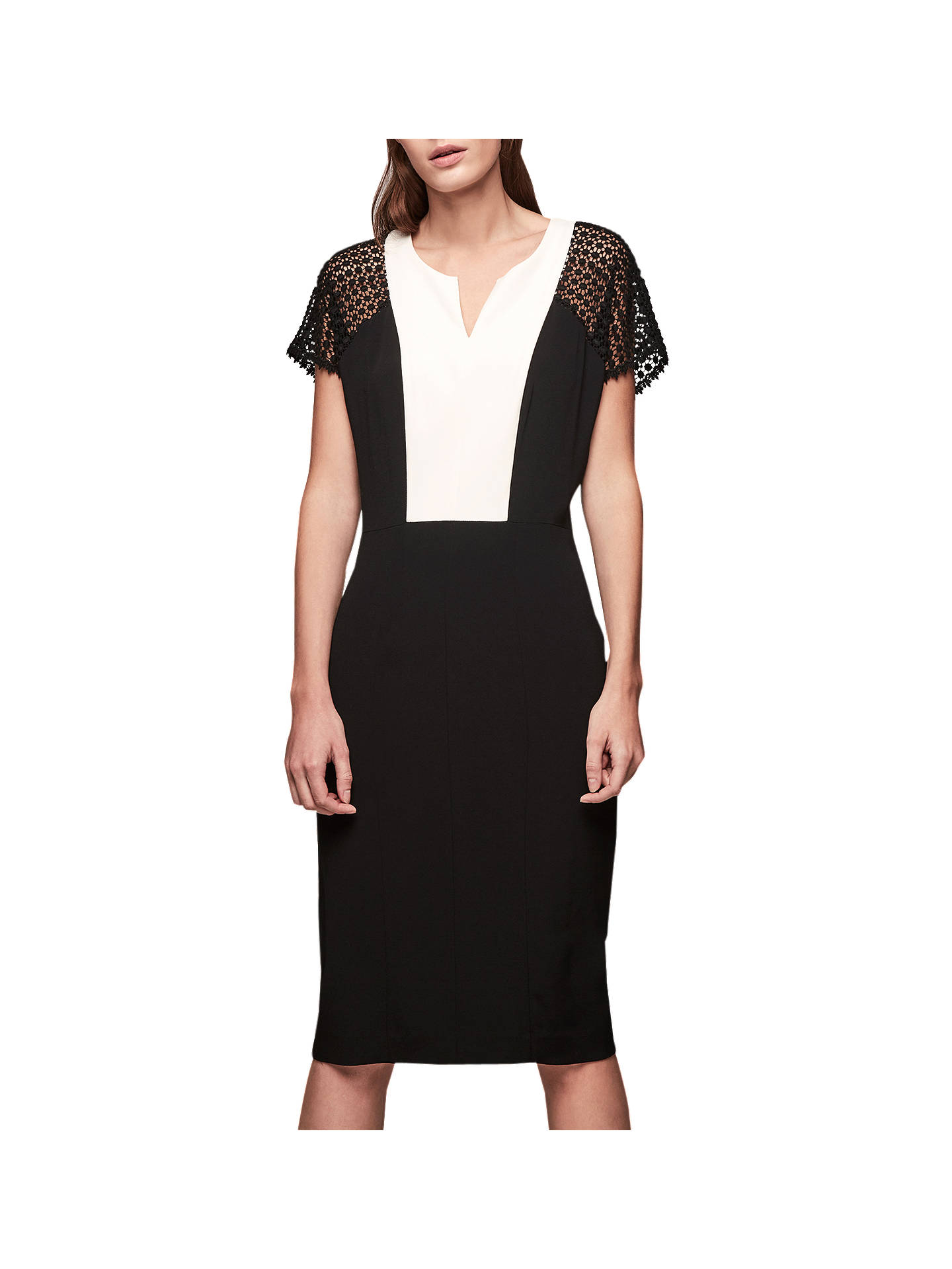 Buy Gerard Darel Dazzle Dress, Black, 6 Online at johnlewis.com