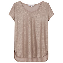 Buy Gerard Darel Bonnie Linen T-Shirt Online at johnlewis.com