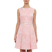 Buy Ted Baker Colour By Numbers Hoprr Fish Print Jacquard Dress Online at johnlewis.com