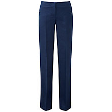 Buy Pure Collection Smart Linen Trousers Online at johnlewis.com