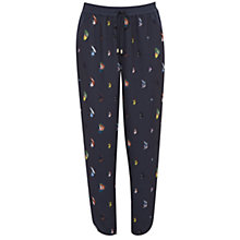 Buy Ted Baker Colour By Numbers Aleson Fly Fish Print Joggers, Mid Grey Online at johnlewis.com