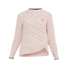 Buy Ted Baker Colour By Numbers Charo Cable Knit Wrap Jumper Online at johnlewis.com