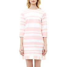 Buy Ted Baker Colour By Numbers Jangle Two Tone Stripe Tunic Dress, Pale Pink Online at johnlewis.com