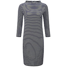 Buy Pure Collection Rihanna Striped Tunic, Navy/White Online at johnlewis.com