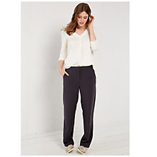 Buy White Stuff Wendy Wide Leg Trousers, Squirrel Grey Online at johnlewis.com