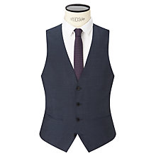 Buy Kin by John Lewis Addison Tonic Slim Fit Waistcoat, Petrol Online at johnlewis.com