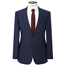 Buy Kin by John Lewis Alma Semi Plain Slim Fit Suit Jacket, Blue Online at johnlewis.com