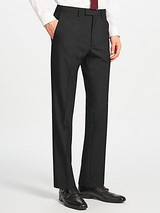 Kin Norton Slim Fit Suit Trousers, Charcoal