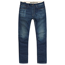 Buy Denham Razor Slim Fit Jeans, Blue Fade Online at johnlewis.com