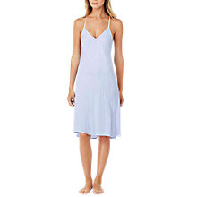 Buy DKNY Stripe Chemise, Light Blue Online at johnlewis.com