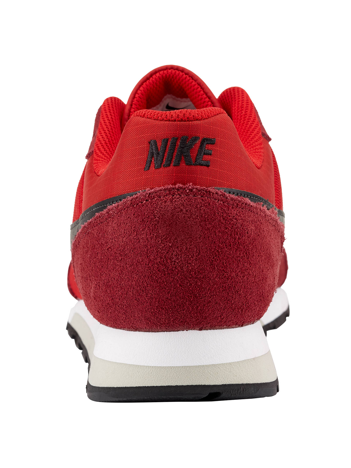 premium selection f83ca 536ad Buy Nike MD Runner 2 Trainers, Red Black, 7 Online at johnlewis.