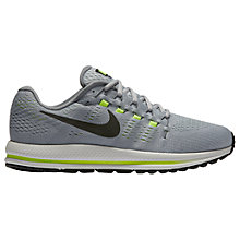 Buy Nike Air Zoom Vomero 12 Men's Running Shoes, Grey/Black Online at johnlewis.com