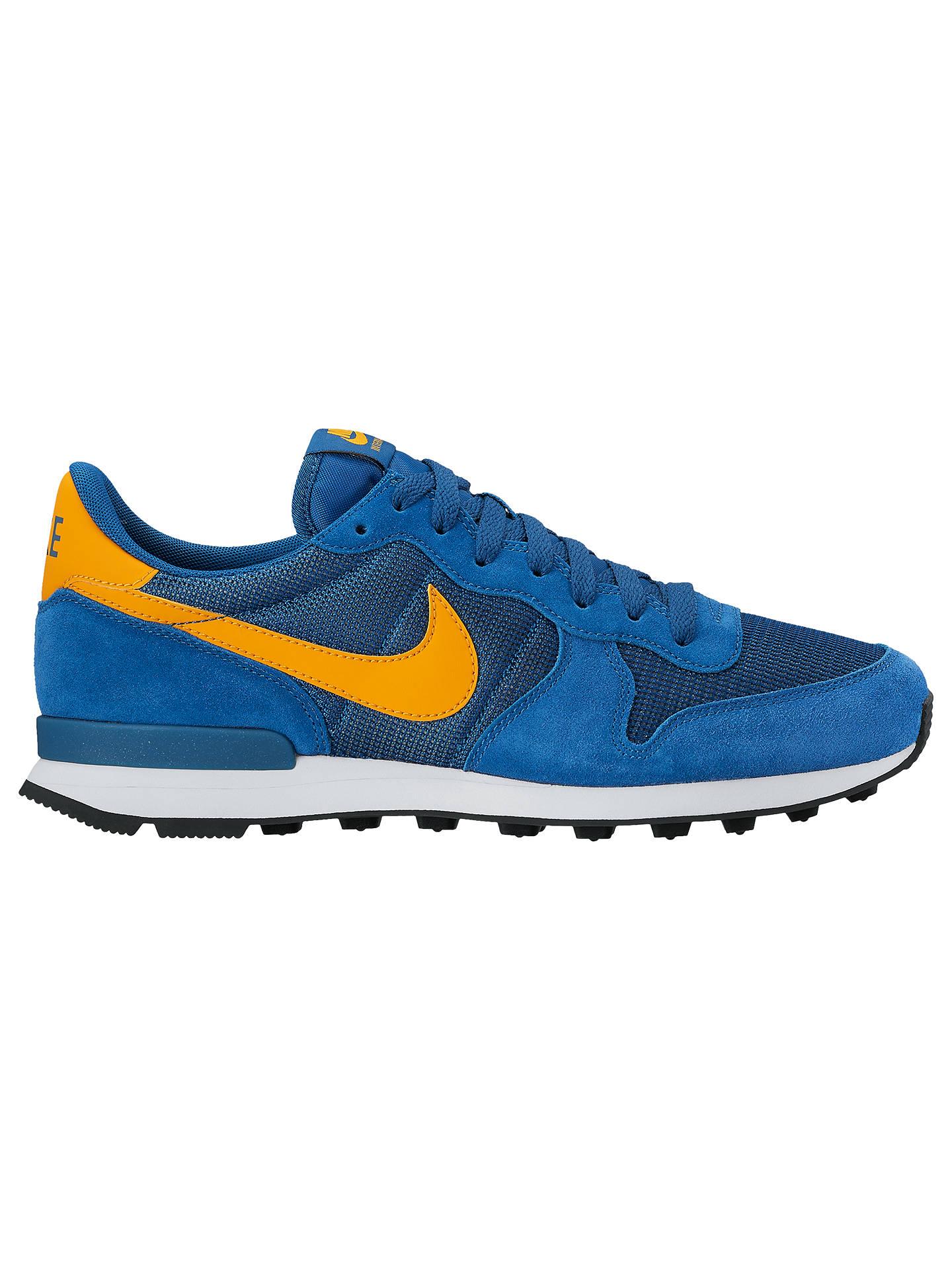 super popular f12cf 80fcc Buy Nike Internationalist Men s Trainers, Blue, 7 Online at johnlewis. ...