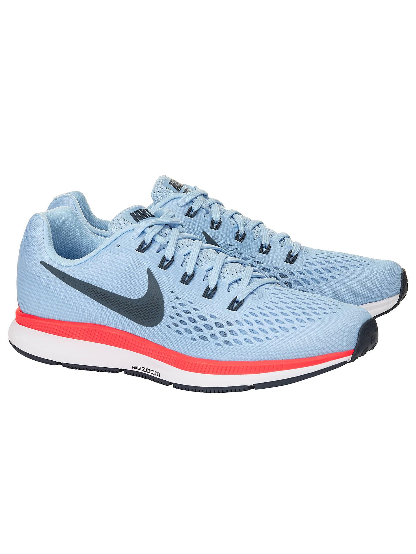c526ffc8b63 Nike Air Zoom Pegasus 34 Men's Running Shoes, Blue at John Lewis ...