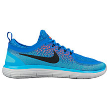 Buy Nike Free RN Distance 2 Men's Running Shoe, Blue Online at johnlewis.com
