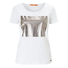 Buy BOSS Orange Tashirt T-Shirt, White Online at johnlewis.com