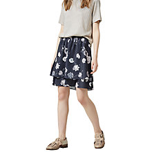 Buy Selected Femme Rosanna Skirt, Dark Sapphire Online at johnlewis.com