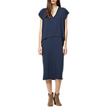Buy Selected Femme Galina Layered Dress, Dark Sapphire Online at johnlewis.com