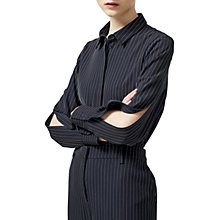 Buy Selected Femme Penny Stripe Shirt, Dark Sapphire Online at johnlewis.com