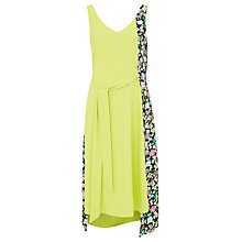 Buy Finery Chambord Ditsy Panelled Side Tie Dress, Multi Online at johnlewis.com