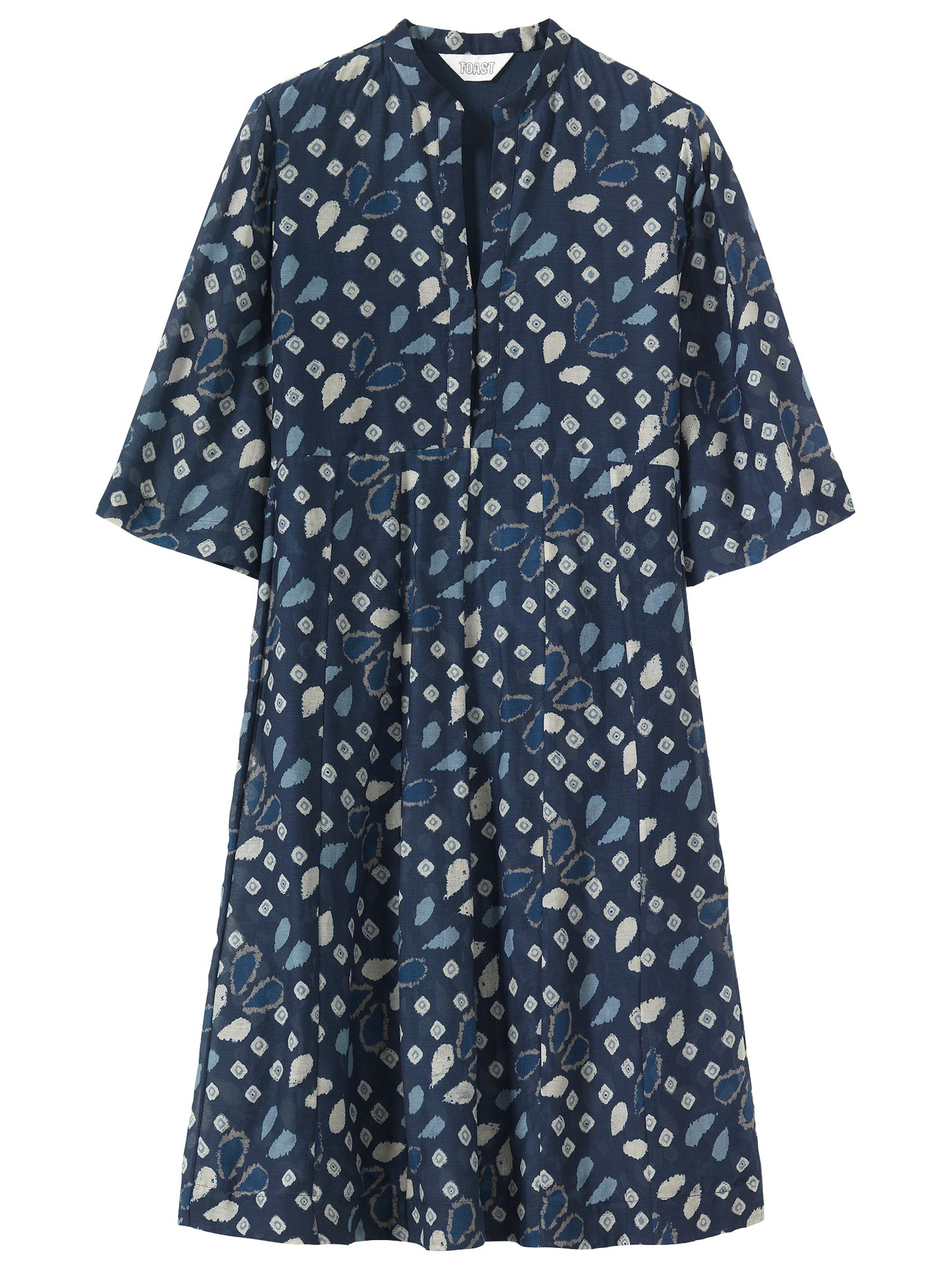 Ladakh blue dress