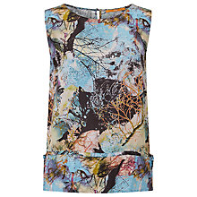 Buy BOSS Orange Caflower Printed Top, Multi Online at johnlewis.com