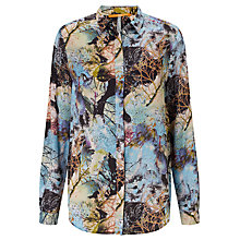 Buy BOSS Orange Eiman Printed Blouse, Multi Online at johnlewis.com