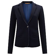 Buy BOSS Orange Taspongi Jersey Blazer, Dark Blue Online at johnlewis.com