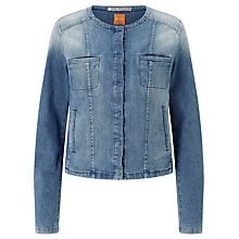 Buy BOSS Orange Toulouse Denim Jacket, Medium Blue Online at johnlewis.com
