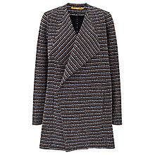 Buy BOSS Orange Tivera Stripe Jacket, Dark Blue Online at johnlewis.com