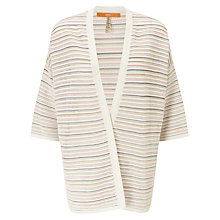 Buy BOSS Orange Winnolly Oversized Cardigan, Natural Online at johnlewis.com