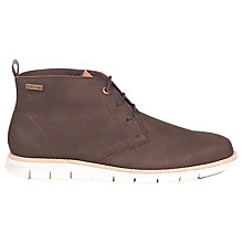 Buy Barbour Burghley Leather Chukka Boot, Coffee Online at johnlewis.com