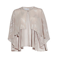 Buy Gina Bacconi Chiffon Cape, Bridal Biscotti Online at johnlewis.com