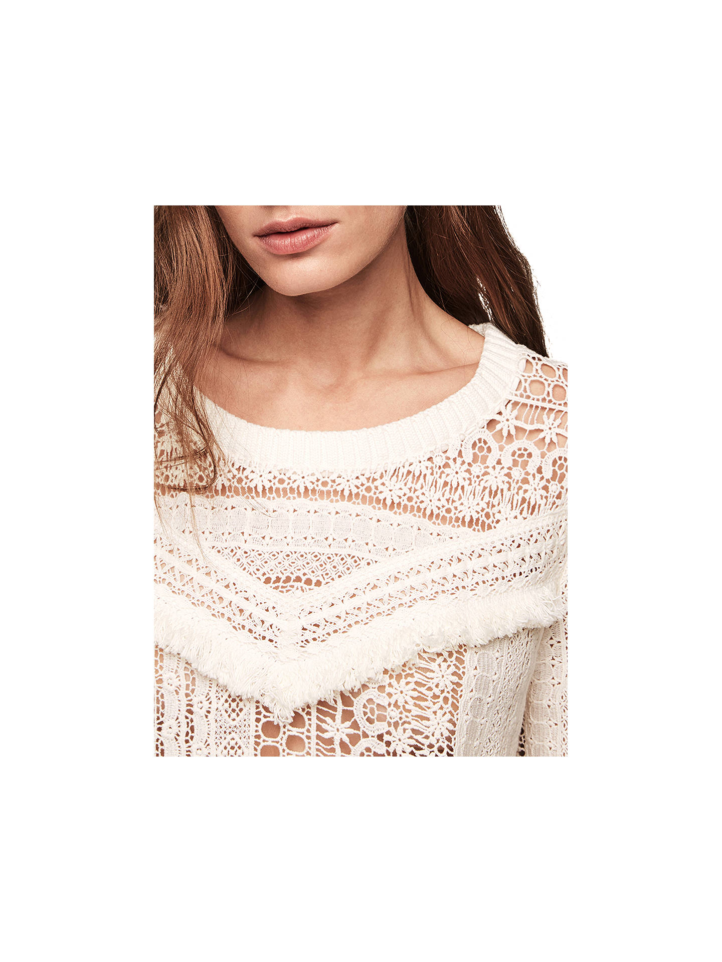 Buy Gerard Darel Dusk Jumper, Beige, 8-10 Online at johnlewis.com