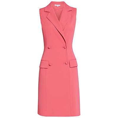 Gina Bacconi Crepe Double Breasted Coat Dress
