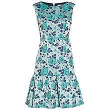 Buy Gina Bacconi Floral Jacquard Dress, Mint Online at johnlewis.com