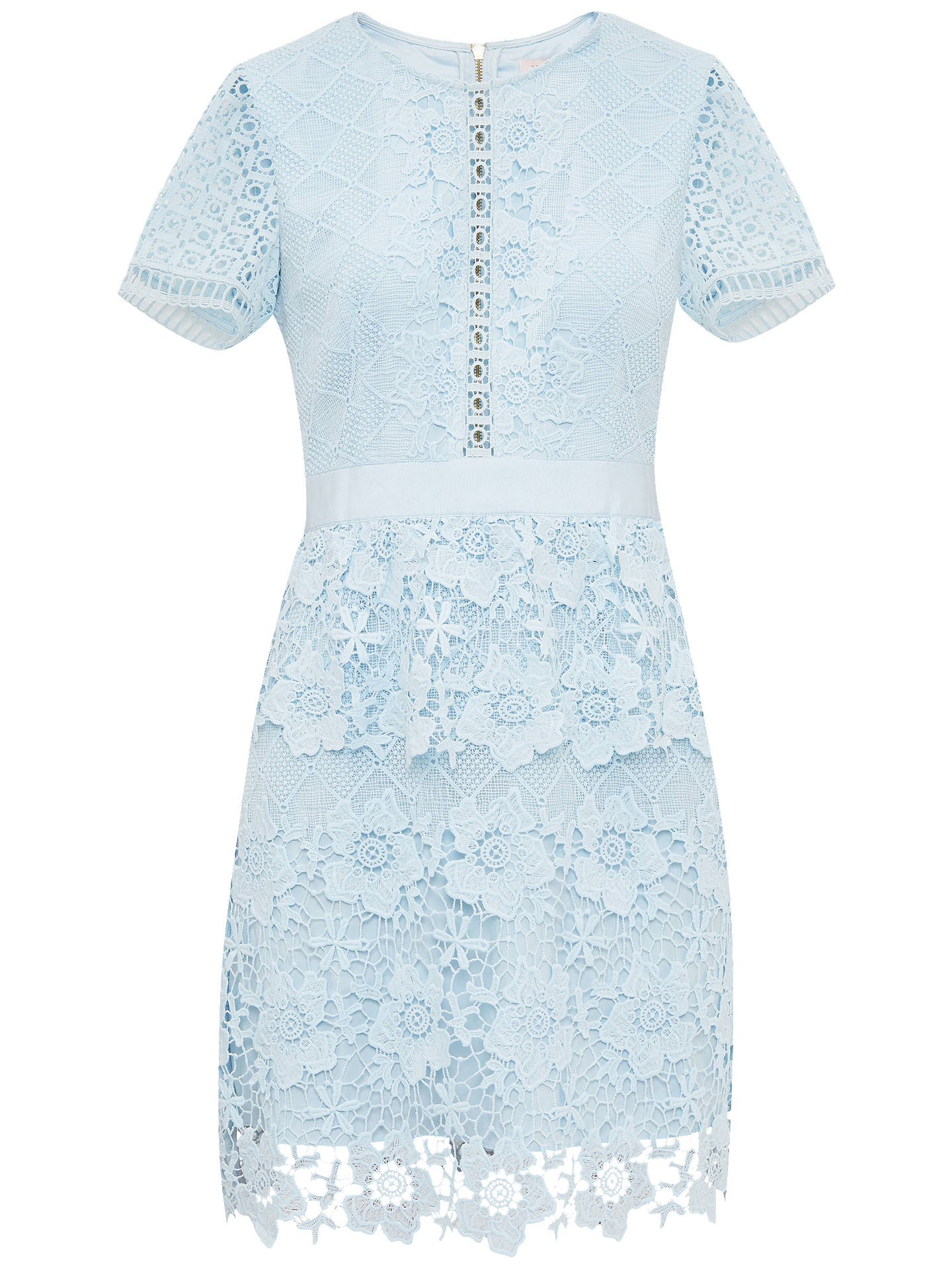 Ted Baker Dixa Layered Lace Skater Dress At John Lewis