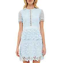 Buy Ted Baker Dixa Layered Lace Skater Dress Online at johnlewis.com