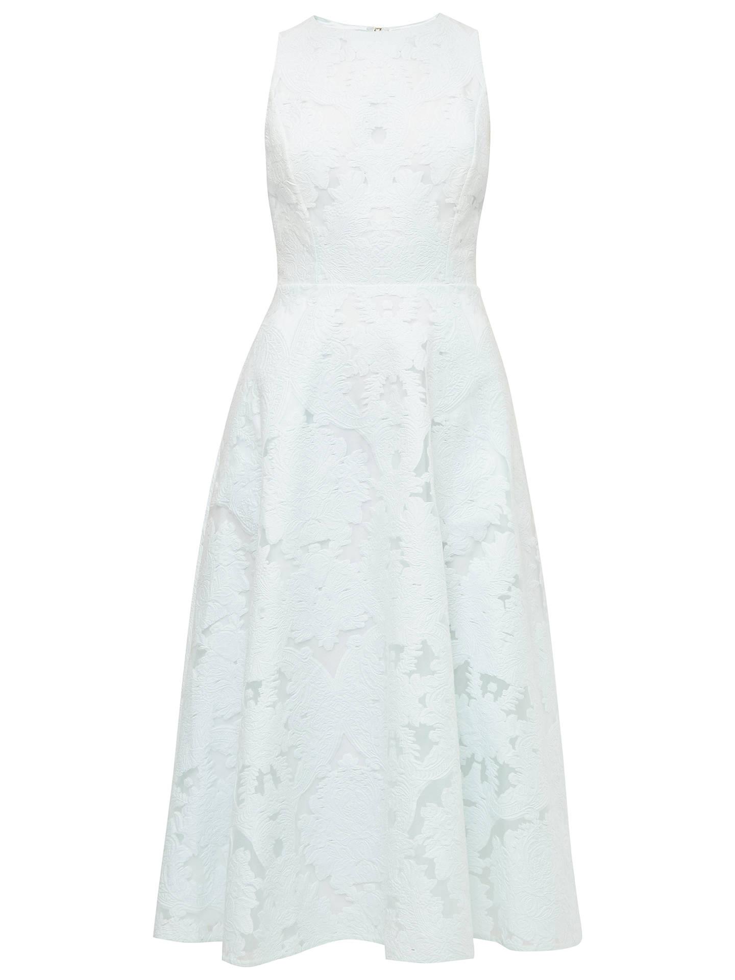 293e9a1bb76edc Buy Ted Baker Roshi Burnout Jacquard Midi Dress
