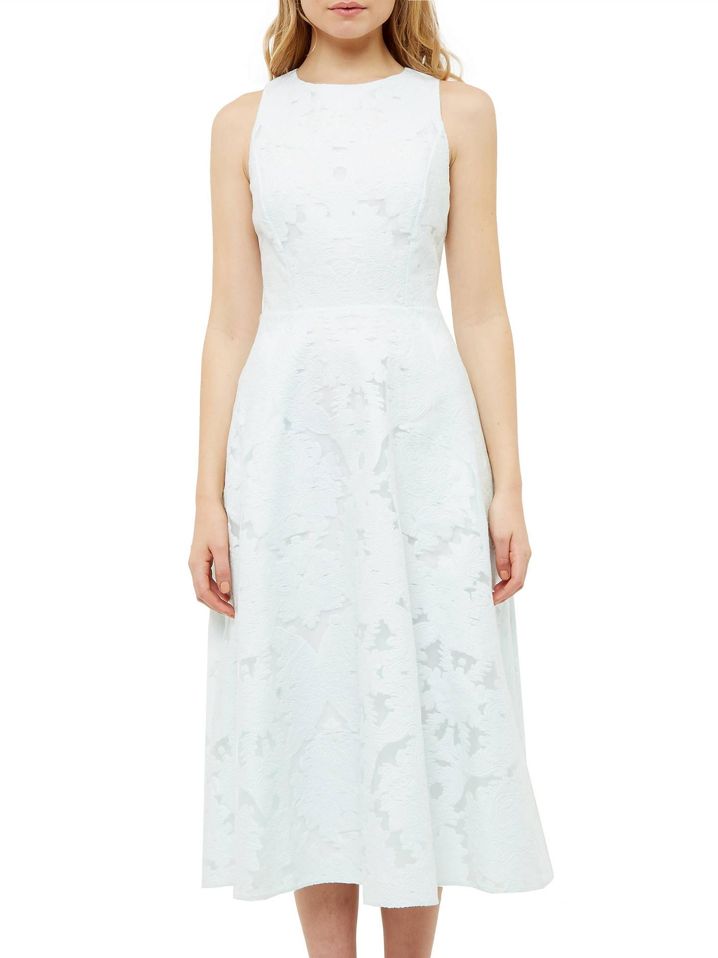 76370c54e80c3e ... Buy Ted Baker Roshi Burnout Jacquard Midi Dress