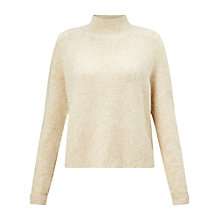 Buy Miss Selfridge Cropped Funnel Neck Jumper Online at johnlewis.com
