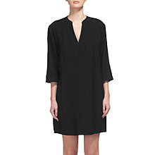 Buy Whistles Monica Sack Dress, Black Online at johnlewis.com