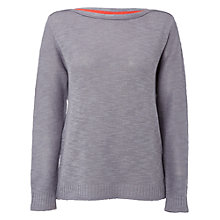 Buy White Stuff Flutterling Knit Jumper, Squirrel Grey Online at johnlewis.com