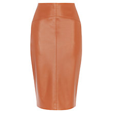 Buy Karen Millen Faux Leather Collection Skirt Online at johnlewis.com