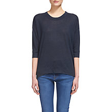 Buy Whistles Laura Linen T-Shirt Online at johnlewis.com