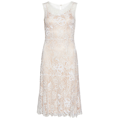 1920s Cocktail Party Dresses, Evening Gowns Gina Bacconi Beaded Lace Dress £238.00 AT vintagedancer.com
