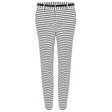 Buy Phase Eight Jemi Stripe Trousers, Ivory/Navy Online at johnlewis.com